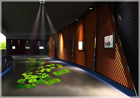 地面互动投影系统